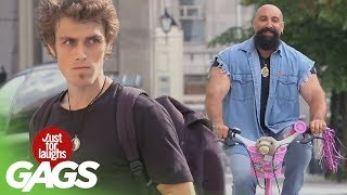 Bikers Pranks - Best of Just For Laughs Gags