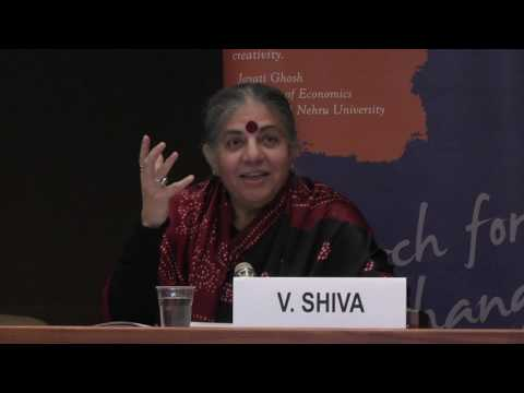 Vandana Shiva | Oneness vs. The 1% | Vandana Shiva at the United Nations Office at Geneva