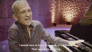 Brad Mehldau unveiling the new Steinway & Sons Elbphilharmonie Limited Edition piano in Hamburg