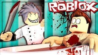 Roblox Adventures - MURDER IN THE BATHROOM! (Roblox Murder Mystery)