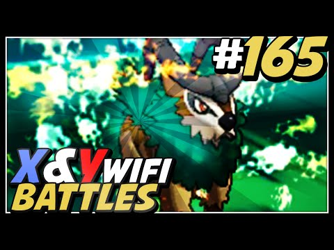 Pokemon X and Y Wifi Battle #165 Live Vs Sophie - Just TOO GOOD!