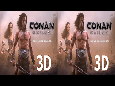 Conan Exiles 3D VR TV Cardboard video SBS by 3D VR TV Game Video