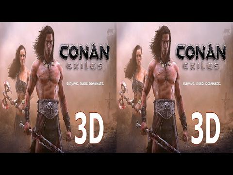 Conan Exiles 3D VR TV Cardboard video SBS by 3D VR TV Game Video