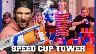 KAJ SABOTEERT DE SPEED CUP TOWER CHALLENGE   Dylan, Kelvin, Jill, Marije   Challenges Cup #4