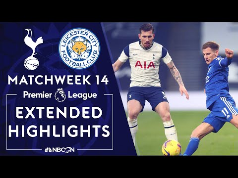 Tottenham v. Leicester City | PREMIER LEAGUE HIGHLIGHTS | 12/20/2020 | NBC Sports