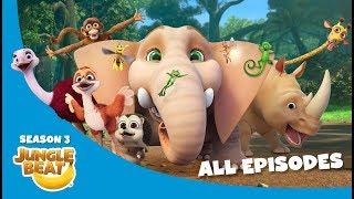 Jungle Beat Season Three Compilation [Full Episodes]