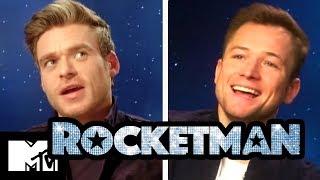 Rocketman Gay Sex Scene: Taron Egerton & Richard Madden Talk Intimacy
