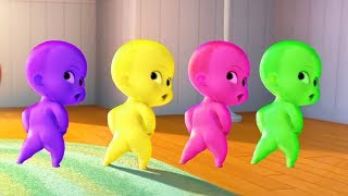 The Boss Baby Learning Color CRAZINESS Videos | Learn Colors For Kids 3D #2