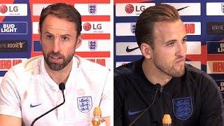 Gareth Southgate & Harry Kane Pre-Match Press Conference - England v Croatia - UEFA Nations League