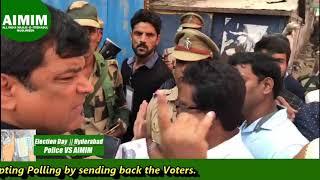 Polling Intreption    Election Day 2018    Syed Sohail Quadri