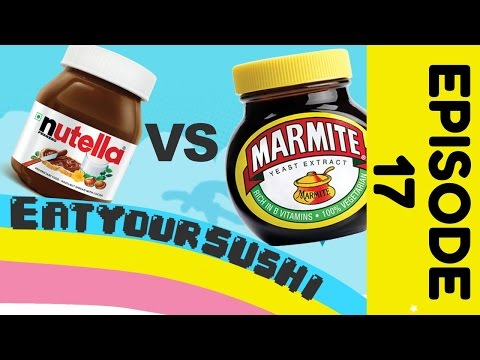 Eat Your Sushi - Marmite Challenge