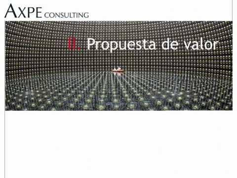 Presentación AXPE Consulting 2013