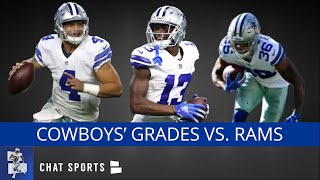 Cowboys Grades For Tony Pollard, Dak Prescott, Mike White, Michael Gallup vs. Rams In NFL Preseason