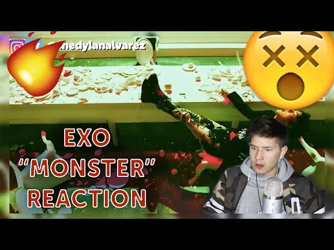 THE MOVES! | EXO 엑소 'Monster' MV REACTION | First time reacting to EXO