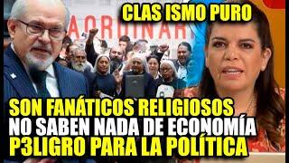 """PEDRO CATERIANO CRITICA AL FREPAP """"SON FANÁTICOS RELIGIOSOS"""" Y MILAGROS LEIVA REACCIONA ASÍ"""