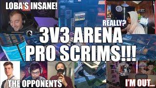 PRO SCRIMS Apex Legends ARENA MODE GAMEPLAY // Apex Legends Season 9 //3v3s w/Nicewigg &Albralelie