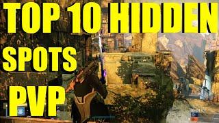 Destiny Top 10 HIDDEN CRUCIBLE SPOTS (Destiny Tips & Tricks)