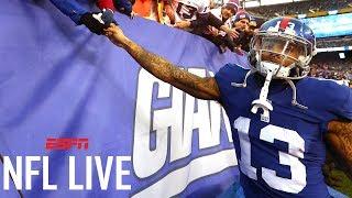 Will Odell Beckham Jr.'s Contract Negotiations Start Soon? | NFL Live | ESPN