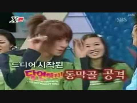 Hee Chul cute cut when he knocked out 3 persons