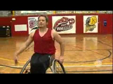Be Active Perth Wheelcats on Channel 10 (April 2012)
