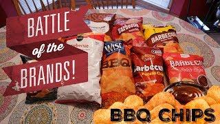 Battle of the Brands | BBQ Chips | Blind Taste Test!