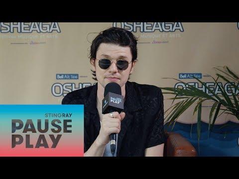 James Bay Interview   Osheaga 2018   Stingray PausePlay