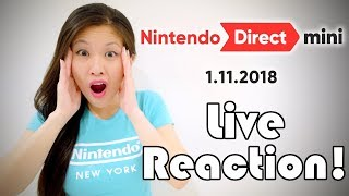 BIG REVEAL! [Nintendo Direct Mini 1.11.2018] LIVE REACTION