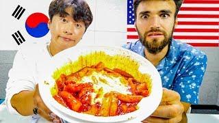 KOREAN VS. AMERICAN - SPICY FOOD CHALLENGE!