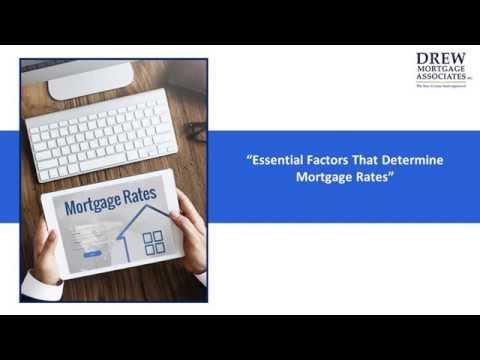 Factors That Determine Mortgage Rates