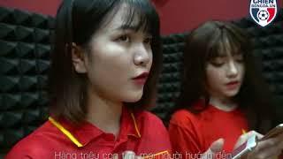người lạ ơi - girl xinh cổ vũ U23 Việt Nam vs Qatar . Việt nam viết nên lịch sử