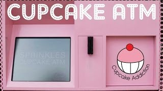 CUPCAKE ATM - I visited the Sprinkles Cupcake ATM in Beverly Hills and LOVED it!!