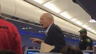 Former senator is kicked off flight