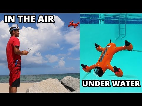 Spry: A drone that can submerge, float and fly. Official Kickstarter Video.