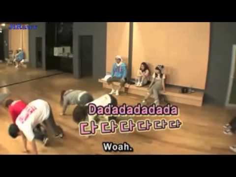 지연 Jiyeon (T-ara) Kahi (After School) learning break dance