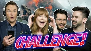 RETO JURÁSICO CON CHRIS PRATT, BRYCE DALLAS HOWARD Y WISMICHU