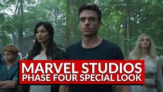 Marvel Reveals Eternals Footage, Black Panther 2 Details, and More (Nerdist News w/ Dan Casey)