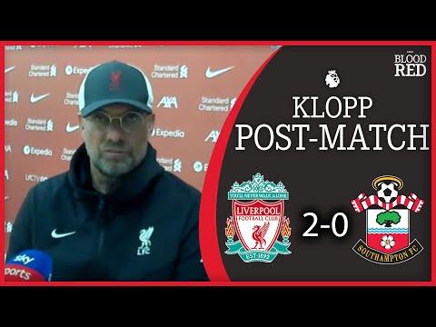'TOP FOUR STILL ALIVE' | Jurgen Klopp Press Conference | Liverpool 2-0 Southampton