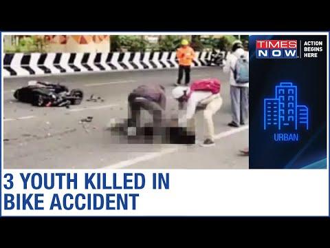 Video: 3 youngsters die while performing dangerous bike stunts in Bengaluru