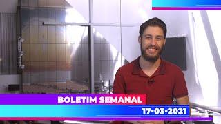 Boletim Semanal 17/03/2021