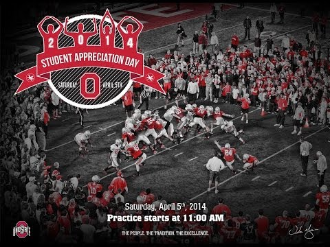 A Message from Urban Meyer: Student Appreciation Day 2014
