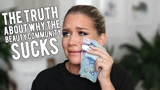 THE PROBLEM WITH THE BEAUTY COMMUNITY... | Samantha Ravndahl