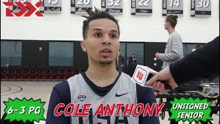Cole Anthony: 2019 Nike Hoop Summit Interview and Highlights