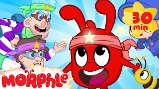 Ninja Morphle! - My Magic Pet Morphle | Cartoons For Kids | Morphle TV | BRAND NEW