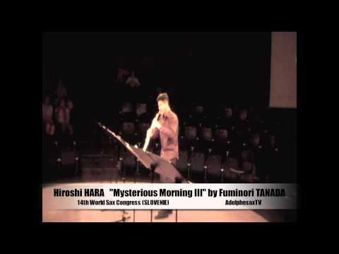 """Hiroshi Hara """"Misterious Morning"""" Fuminori Tanada"""