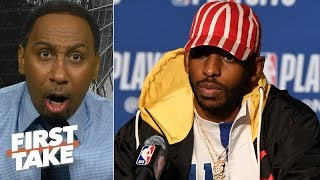'Where the hell are you Chris Paul?' - Stephen A. rants about CP3's Game 5 performance | First Take