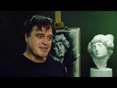 screenshot of youtube video titled Art, Self-Expression & Antique Technique
