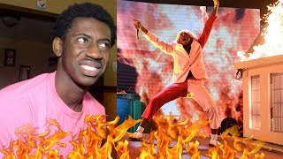 Tyler, The Creator - EARFQUAKE / NEW MAGIC WAND (Live at the 2020 GRAMMYs) REACTION