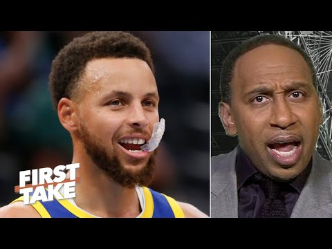 Stephen A. responds to Steph Curry: The Warriors looked like trash!  | First Take