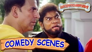 Akshay Kumar & Johnny Lever Funny Scene- 2   Comedy Scenes   Entertainment   Hindi Film