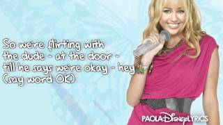 Hannah Montana - Are You Ready (Lyrics Video) HD